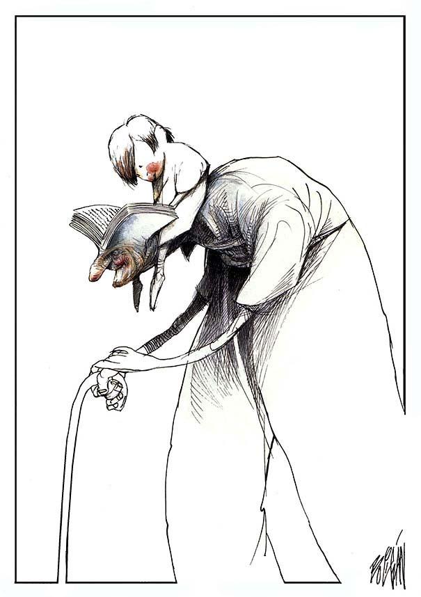 Σατυρικά σκίτσα από τον Angel Boligan (20)
