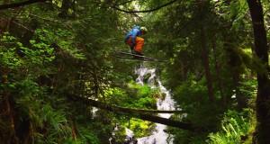 Ski μέσα στο δάσος (Video)