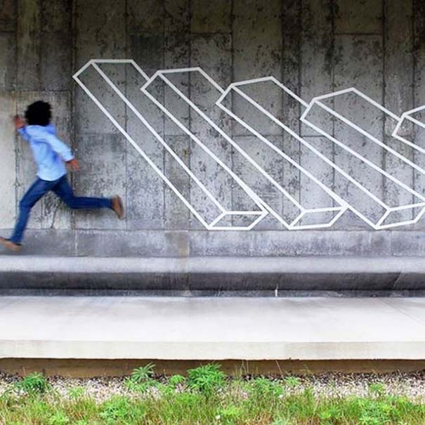 Τέχνη του δρόμου και γεωμετρικές οφθαλμαπάτες (7)