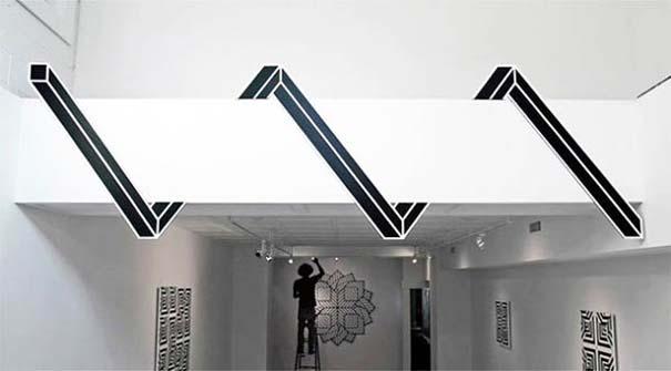 Τέχνη του δρόμου και γεωμετρικές οφθαλμαπάτες (9)