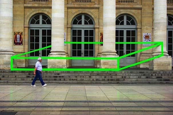 Τέχνη του δρόμου και γεωμετρικές οφθαλμαπάτες (16)