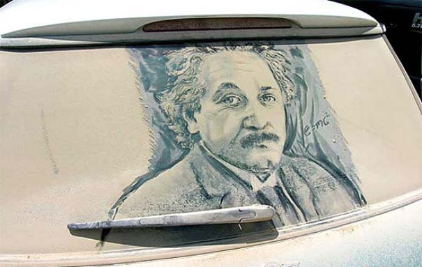 Τέχνη σε σκονισμένα αυτοκίνητα (2)