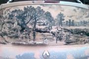 Τέχνη σε σκονισμένα αυτοκίνητα (33)