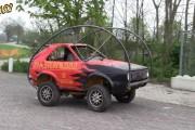 VW Golf που κάνει κωλοτούμπες