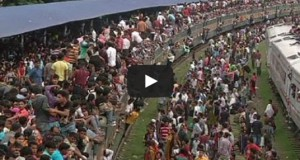Ώρα αιχμής στο Μπαγκλαντές (Video)
