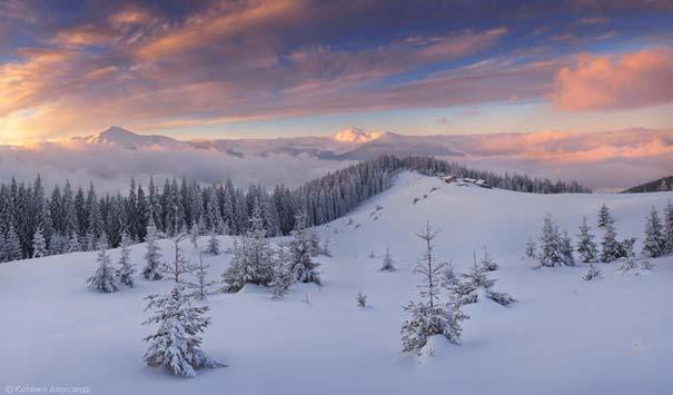 Χειμώνας στα Καρπάθια Όρη (1)