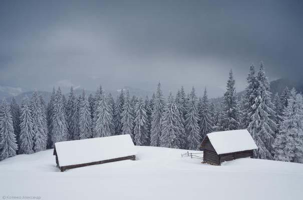 Χειμώνας στα Καρπάθια Όρη (5)