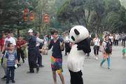 Χόρεψε σε κάθε γωνιά της Κίνας μέσα σε 100 μέρες