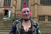 Απίστευτη μεταμόρφωση μιας punk κοπέλας