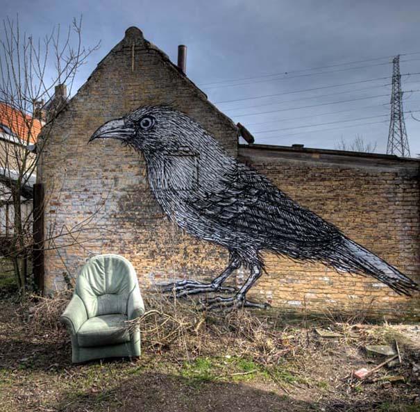 Doel: Το εγκαταλελειμμένο χωριό που παραδόθηκε στην τέχνη του δρόμου (1)