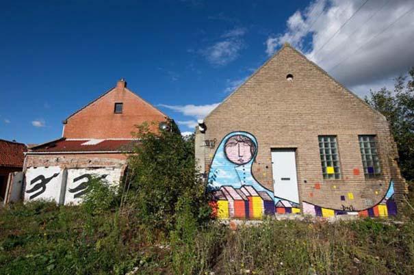 Doel: Το εγκαταλελειμμένο χωριό που παραδόθηκε στην τέχνη του δρόμου (5)