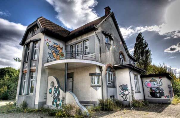 Doel: Το εγκαταλελειμμένο χωριό που παραδόθηκε στην τέχνη του δρόμου (8)