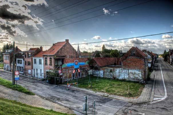 Doel: Το εγκαταλελειμμένο χωριό που παραδόθηκε στην τέχνη του δρόμου (10)