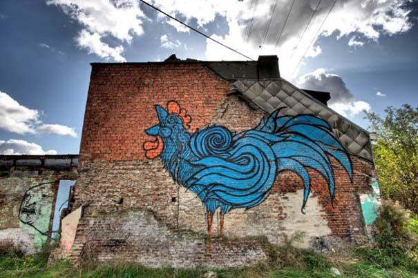 Doel: Το εγκαταλελειμμένο χωριό που παραδόθηκε στην τέχνη του δρόμου (11)
