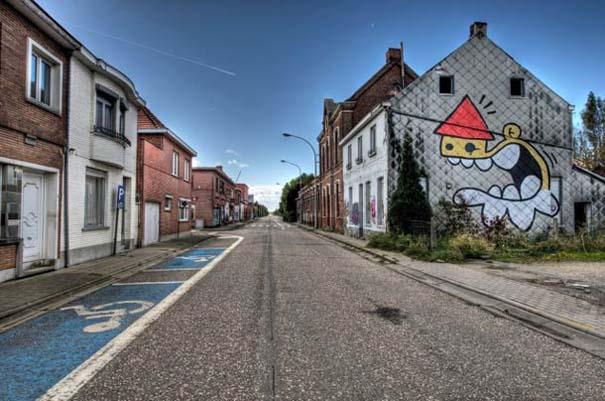 Doel: Το εγκαταλελειμμένο χωριό που παραδόθηκε στην τέχνη του δρόμου (12)
