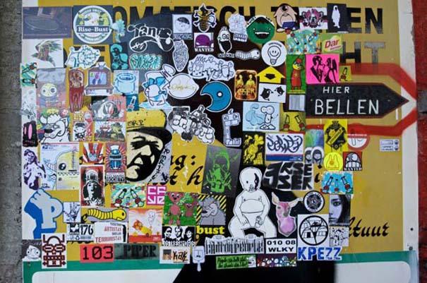 Doel: Το εγκαταλελειμμένο χωριό που παραδόθηκε στην τέχνη του δρόμου (13)