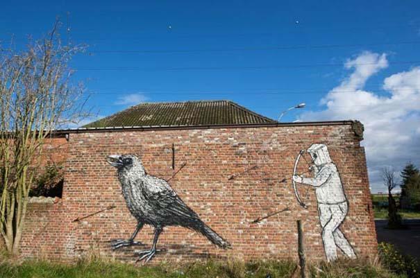 Doel: Το εγκαταλελειμμένο χωριό που παραδόθηκε στην τέχνη του δρόμου (16)