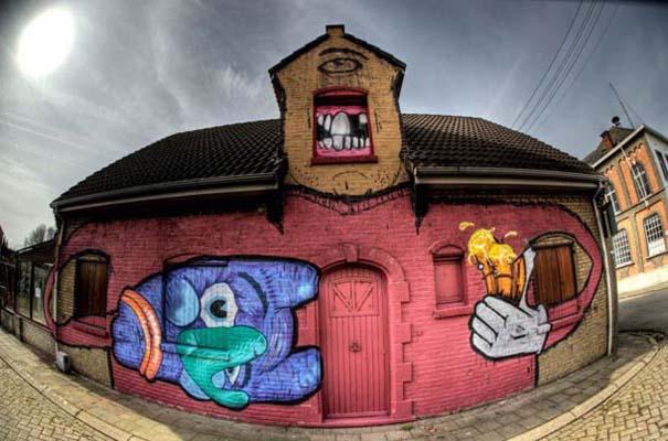 Doel: Το εγκαταλελειμμένο χωριό που παραδόθηκε στην τέχνη του δρόμου (24)