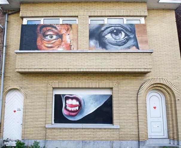 Doel: Το εγκαταλελειμμένο χωριό που παραδόθηκε στην τέχνη του δρόμου (26)
