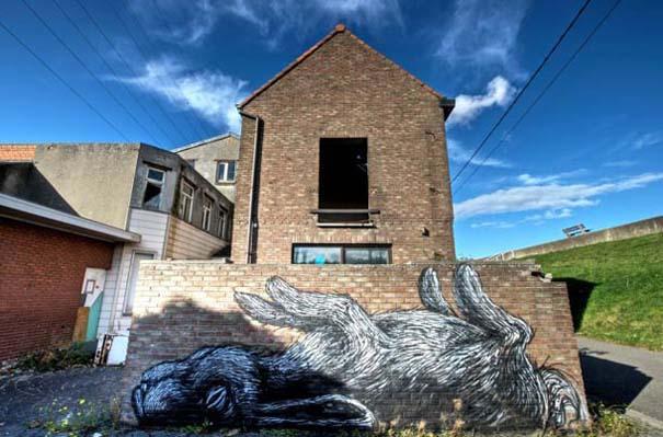 Doel: Το εγκαταλελειμμένο χωριό που παραδόθηκε στην τέχνη του δρόμου (33)