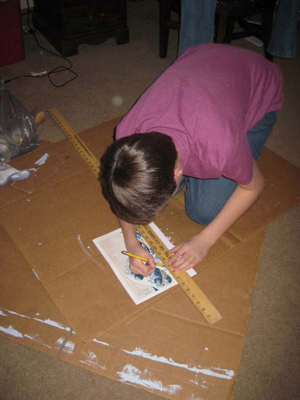 Ένας έφηβος αποφάσισε να βάψει την ντουλάπα του... (3)