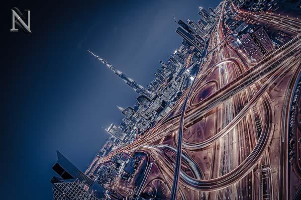 Εκπληκτικές φωτογραφίες από την οροφή κτηρίων στο Dubai (3)