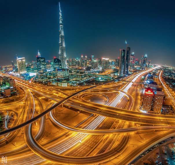 Εκπληκτικές φωτογραφίες από την οροφή κτηρίων στο Dubai (5)