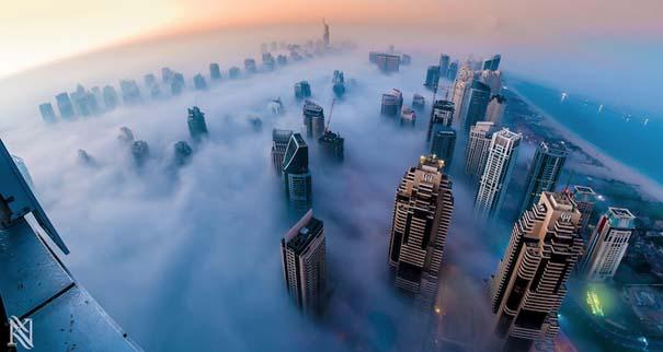 Εκπληκτικές φωτογραφίες από την οροφή κτηρίων στο Dubai (6)
