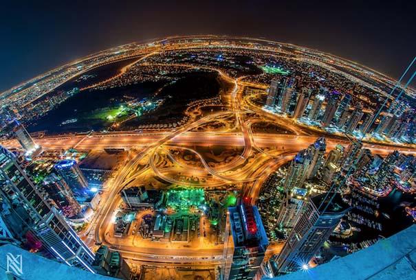 Εκπληκτικές φωτογραφίες από την οροφή κτηρίων στο Dubai (7)