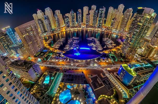 Εκπληκτικές φωτογραφίες από την οροφή κτηρίων στο Dubai (11)