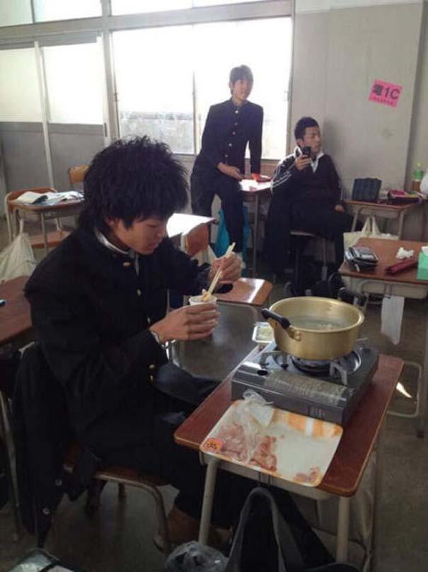 Εν τω μεταξύ, στα σχολεία της Ιαπωνίας... (2)