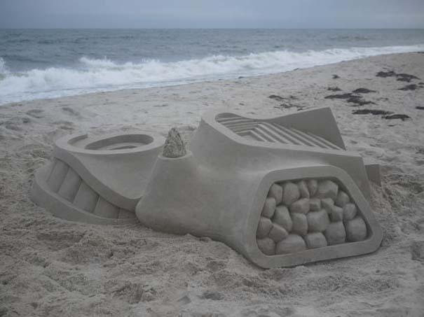 Γεωμετρικά κάστρα στην άμμο από τον Calvin Seibert (5)