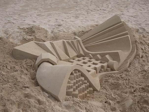 Γεωμετρικά κάστρα στην άμμο από τον Calvin Seibert (16)