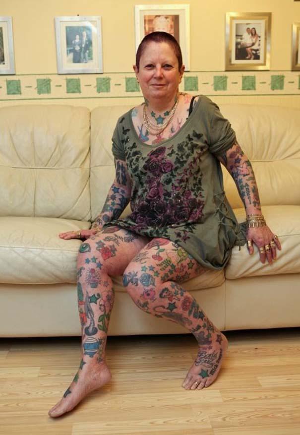 Η γιαγιά με τα 286 τατουάζ (1)