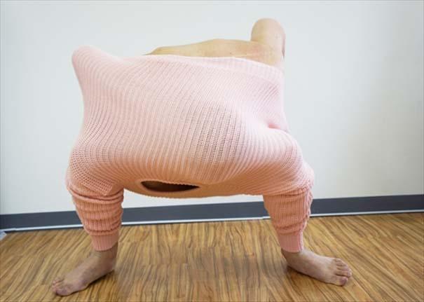 Ιάπωνας βρήκε τον πιο αλλόκοτο τρόπο για να ζεσταθεί με ένα πουλόβερ (3)