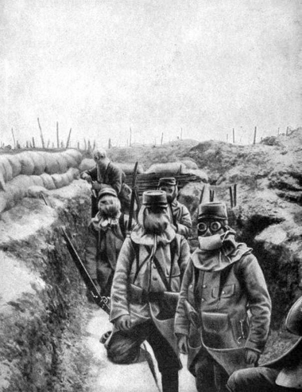 Ιστορικές φωτογραφίες του Α' Παγκοσμίου Πολέμου (8)