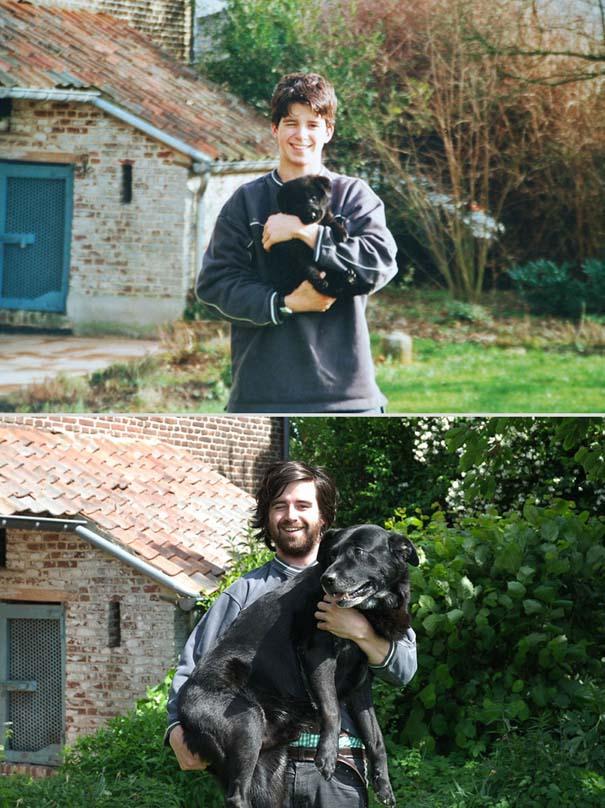 Κατοικίδια πριν και μετά (2)