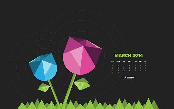 Wallpapers ημερολόγια Μαρτίου 2014 (3)
