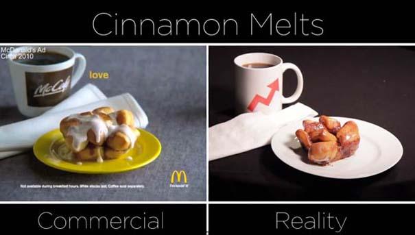 McDonald's: Διαφημίσεις vs πραγματικότητα (3)