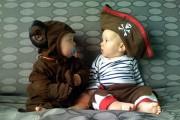 Μωρά που ντύθηκαν πρώτη φορά για τις απόκριες