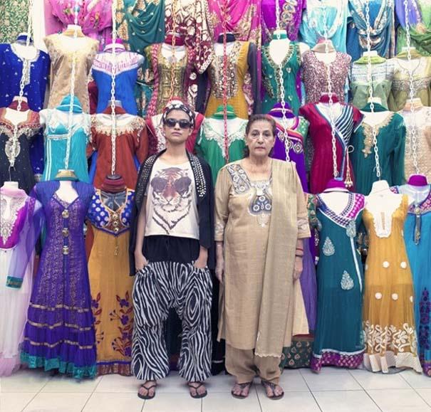 Νεαροί ανταλλάσσουν ρούχα με τους παππούδες τους (3)
