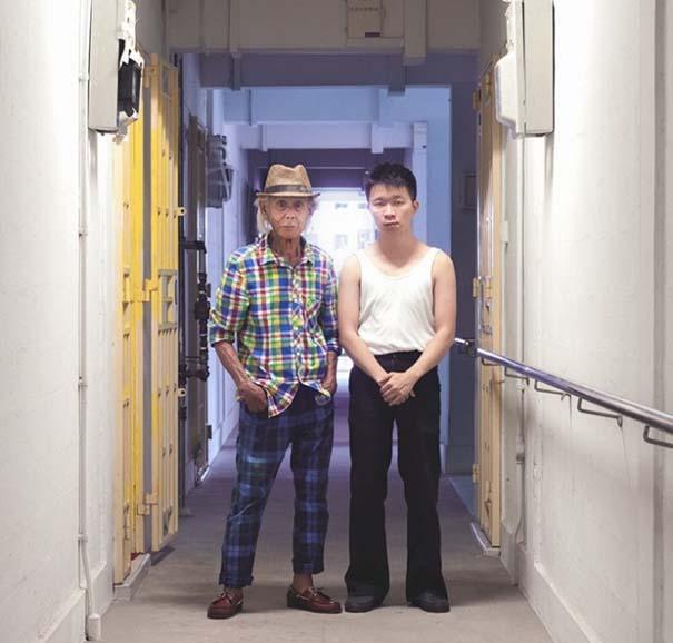 Νεαροί ανταλλάσσουν ρούχα με τους παππούδες τους (6)