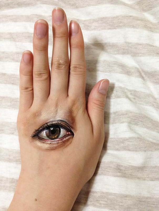 Οφθαλμαπάτες με body painting που τρελαίνουν το μυαλό (2)