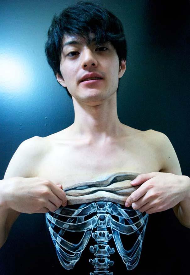 Οφθαλμαπάτες με body painting που τρελαίνουν το μυαλό (14)
