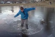 Όταν το... σπάσιμο του πάγου οδηγεί σε δυσάρεστες καταστάσεις