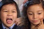 Παιδιά δοκιμάζουν ακριβά gourmet φαγητά