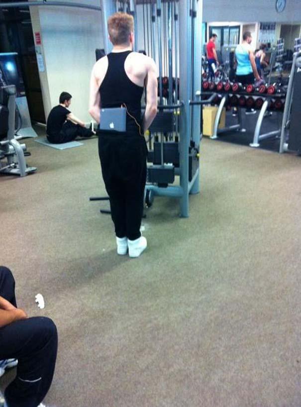 Παράξενες & αστείες στιγμές στο γυμναστήριο (7)