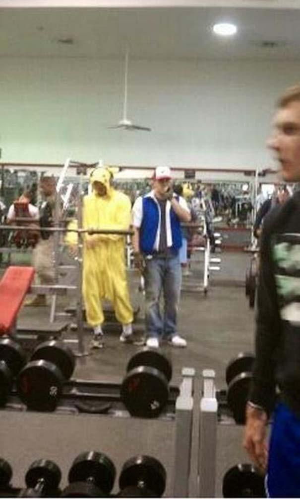 Παράξενες & αστείες στιγμές στο γυμναστήριο (9)