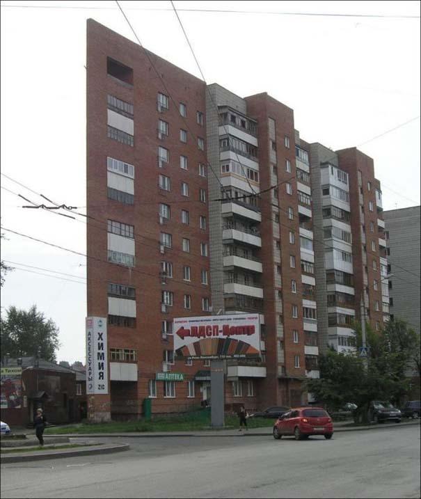 Περίεργη κι όμως αληθινή πολυκατοικία στη Ρωσία (6)