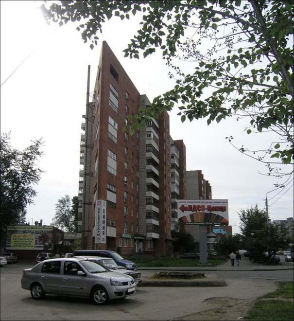 Περίεργη κι όμως αληθινή πολυκατοικία στη Ρωσία (7)